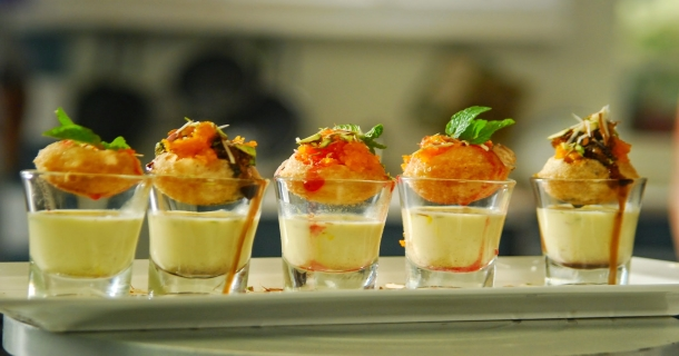 Golgappa Shots Recipes in Hindi