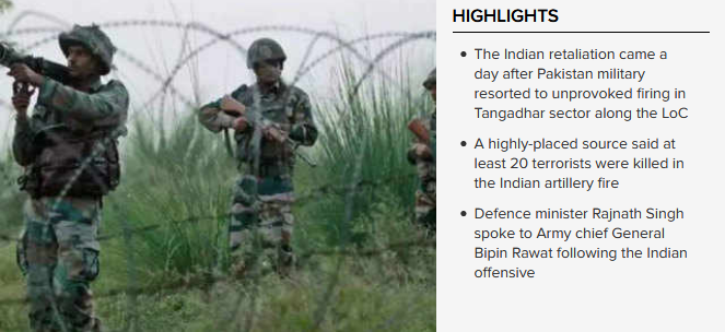Surgical strikes in PoK Indian Army pounds terror camps