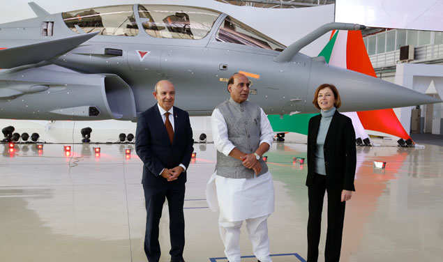 first-rafel-india-with-rajnath-singh