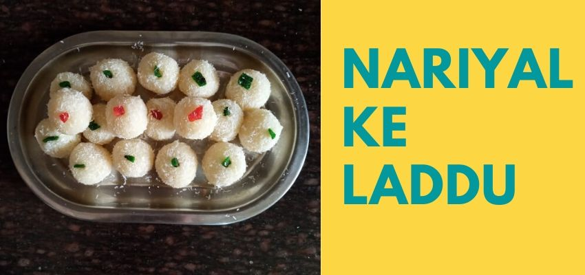 nariyal ke laddu recipe